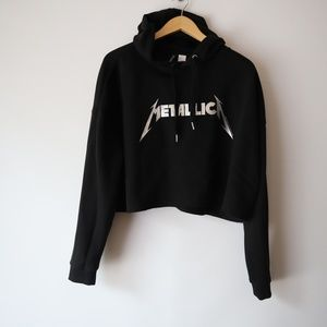 ❤5 for 5 for $25 Metallica  Crop Top Sweater XL